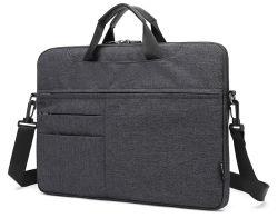 Solo hombro mano resistente al agua los viajes de negocios Laptop Notebook MacBook cubierta de la cartera Pack Bolsa (CY3203)