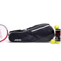 3 pelota de tenis raqueta Bolsa acolchada para proteger raquetas y ligero de principiante o profesional de los jugadores de tenis
