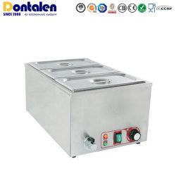 Dontalen acciaio inox Gn Pans (1/3) Servizio di catering zuppa alimentare Magazzino Pot attrezzatura utensili da cucina apparecchio scaldabiberon Bain Marie