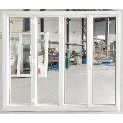 Glas-UPVC Fenster-Tür Außengatter-Entwurf Belüftung-