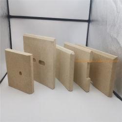 La vermiculite Fire Board pour poêle à bois et cheminée isolation thermique des matériaux de chaleur
