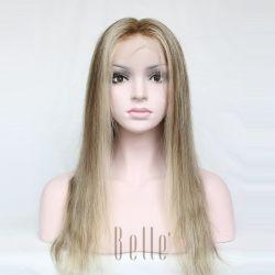 Separación Natural 100% Humano virgen de encaje peluca delantera del cabello