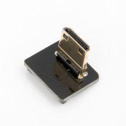 De levering voor doorverkoop van de Stop HDMI van de Rechte hoek (de Kromming van R) Mini
