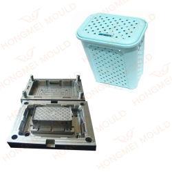 P20 금형 강철 핫 러너가 있는 맞춤형 플라스틱 바스켓 무old 사출 성형 설계 가정용 제품 성형 플라스틱 부품 세탁하기 바구니 금형