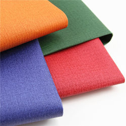 라벨 일기용으로 새롭게 디자인 북 커버 PU 인조 가죽 Book Binding(예약 바인딩)