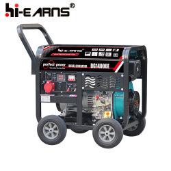 Ein Dieselgenerator-Set 9.0kw (DG14000E) des Zylinder-Dieselmotor-Hr1102fe