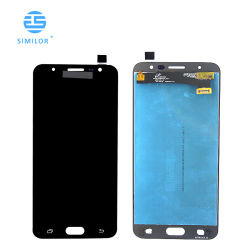 شاشة عرض LCD للهاتف المحمول مع مجموعة شاشة اللمس لمدة سامسونج J7 برايم بانتالا