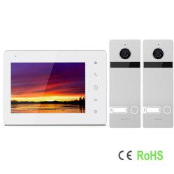 IP/WiFi 2-проводной домашней безопасности экрана IPS HD видео домофон Добро пожаловать системы