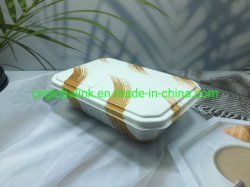 PP Microwavable conteneur en plastique alimentaire fast-food à l'emballage jetable