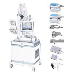 5 في 1 [كريوثيبي] دهن تجميد آلة [سليمينغ] [كريولبولسس] دهن تجميد آلات شفط الدهون التي تعمل بالليزر مع ثلاث كريو 360 درجة المقابض