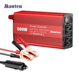 Best verkopend van de Convertor van de Auto van de Inverter van de macht van het Net Solar voor Auto-omvormer 500W, aangepaste Pure sinusgolf DC naar AC