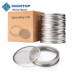 coperchio di germogliatura dell'acciaio inossidabile 2.75inch per i vasi di muratore normali della bocca