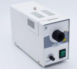 Doppia sorgente luminosa fredda ottica dell'alogeno industriale di illuminazione del microscopio della fibra