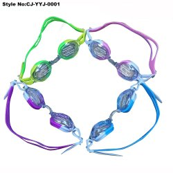 Beschermende brillen van de Douane van het silicone de Goedkoopste Zwemmende