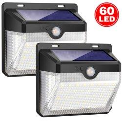 auf lager schnelle Anlieferungs-im im Freienwand-Licht mit Bewegungs-Fühler-Lampe wasserdichtes IP65 alle in einem Solar-LED-Garten-Licht