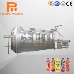 Проекта под ключ ПЭТ-бутылки из стекла может фруктовый сок заполнение производственной линии/Автоматическая газированной воды газированные напитки розлива напитков завод заслонки смешения воздушных потоков цена машины
