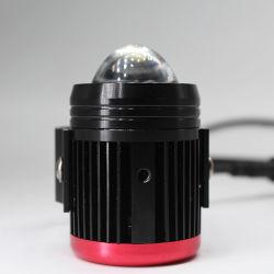 عدسة جهاز العرض الثنائي الزينون الثنائي من نوع LED لضوء الضباب عالي الجودة لدورة الدراجات البخارية السيارة