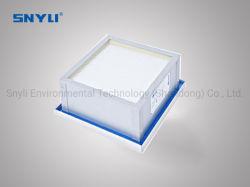 Mini-pli joint Gel Filtre HEPA /Gel-Type filtre HEPA pour salle blanche, U15/H14/H13, la Chine Manufacutrue