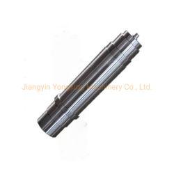 Baratos personalizados de latón y acero inoxidable y aluminio, la conducción del eje del husillo del eje del motor