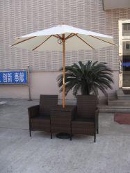 Gartenmöbel Rattan/Wick Tisch und Stuhl