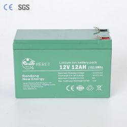 Электрический скутер аккумуляторная батарея 12V 12ah LiFePO4 батарею маркировкой CE сертификации SGS