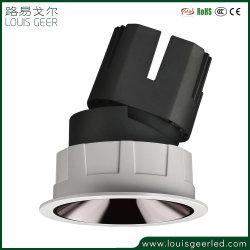 Interiores modernos LED comercial vía a la par de atenuación de la caja de aluminio Die-Casting Lámpara de luz PAR30 Foco LED E27