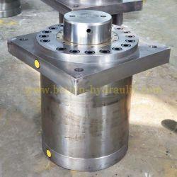 El cilindro de presión hidráulica de alta presión brida frontal para Máquina de prensa
