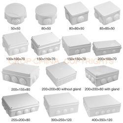 El nivel de protección IP66 y 150x150x70 cajas de empalmes eléctricos de Tamaño externo
