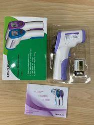 L'écran LCD de haute qualité sans contact de protection de la santé humaine Electronic Digital Thermomter IR avec ce PDA la certification FCC