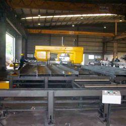 H 빔용 CNC 밴드 톱질 기계