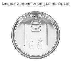 Coperchio in alluminio Easy Open da 99 mm per tappi con estremità facilmente aperte Per lattine