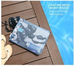 La moda juguetes de playa Piscina bolsa de malla Tote Bags Caracol bolsa de playa bolsa impermeable