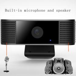 Nuevo ordenador PC USB Webcam Cámara con micrófono y altavoz de soporte de vídeo 1080p