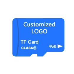 OEM Ultra SD Card 4GB Micro SD Card Flash Card Speicherkarte mit angepasster Logo-Marke für Telefon-/Kamera-Videokarte