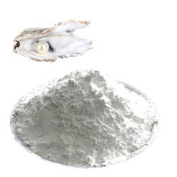 El polvo de perla natural puro de materias primas cosméticas para la crema o Mascarilla Facial
