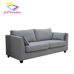 غرفة معيشة خشبية صلبة مصبوبة مع أريكة ذات وحدات حديثة أرائك