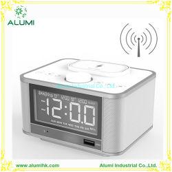 무선 스피커 무선 충전 전화 충전기 알람 시계