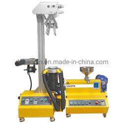 PET Winkel- des Leistungshebelshdpe-LDPE-pp. Plastikplastik-automatischer Film-LaborBenchtop Mininylonfilm-durchbrennenmaschine
