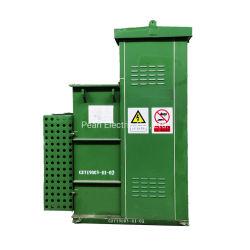 محول مُثبَّت بالوسادة بقدرة 1500 كيلوفولت أمبير 13200 فولت/400/230 فولت من الألومنيوم/النحاس