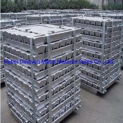 Прямой продажи из алюминия высокой чистоты Ingot99.9%