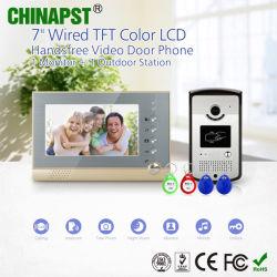 最下の価格のアパートの写真の取得のビデオドアの通話装置(PST-VD07R-ID)