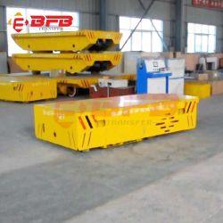 Производственная линия 100t для тяжелого режима работы электрического плоской железнодорожной платформе