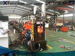 Macchina di taglio digitante di perforazione di CNC di Hyraulic dell'acciaio ad alta velocità di angolo