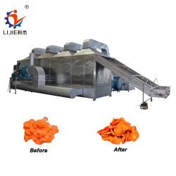 Máquina Secadora de cáñamo de zanahorias y cebolla el secado de pelo de la máquina con calefacción de gas o vapor