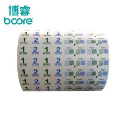 Papier Met Coating Van Aluminiumfolie Van Medische Kwaliteit Dat Wordt Gebruikt Als Bzk-Sachetpapier