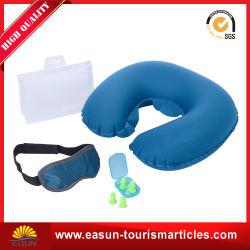 Bureau de faciliter le transport de couchage oreiller gonflable en PVC cou