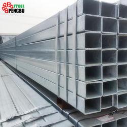 Оцинкованный трубы прямоугольного сечения для строительных материалов