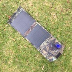 10 W 折りたたみ式ソーラーパネル USB ポータブル携帯電話 iPhone バッテリー ソーラークロス充電器