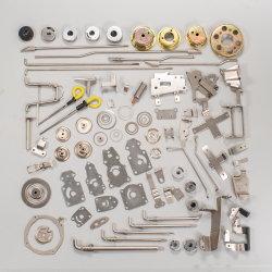 Stempeln des Metallenden-Binders