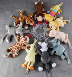 Pluche Animal Baby Fopspeen Speelgoed